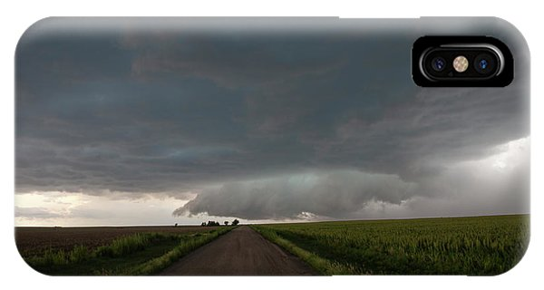 Storm Chasin In Nader Alley 025 IPhone Case