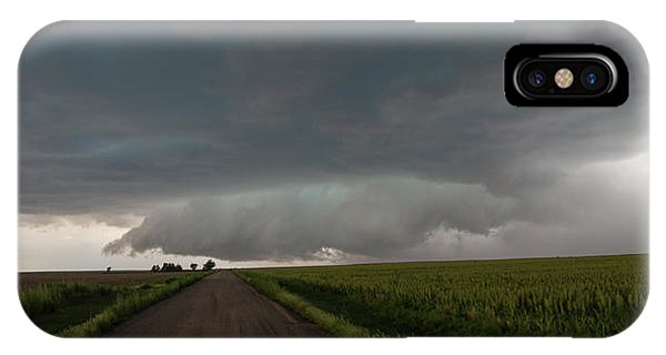 IPhone Case featuring the photograph Storm Chasin In Nader Alley 025 by NebraskaSC