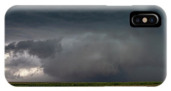 IPhone Case featuring the photograph Storm Chasin In Nader Alley 030 by NebraskaSC