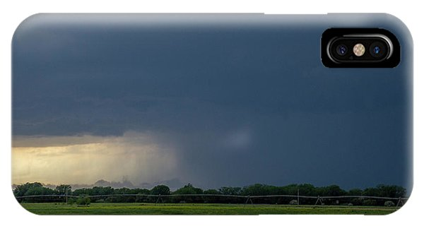 Storm Chasing West South Central Nebraska 002 IPhone Case