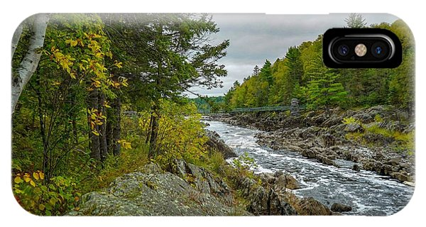 Storm Clouds At Jay Cooke IPhone Case