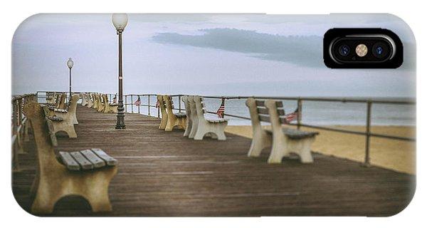 Stormy Boardwalk 2 IPhone Case