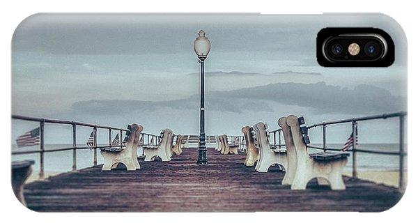 Stormy Boardwalk IPhone Case