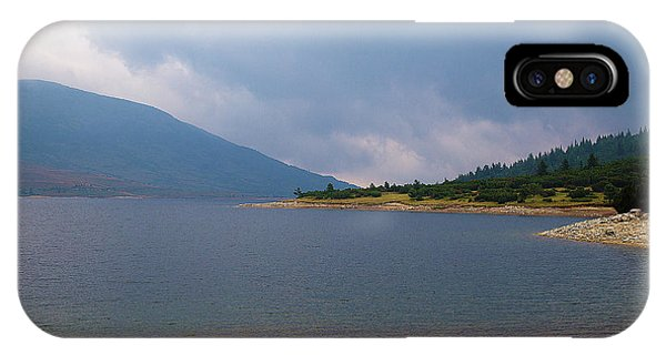 IPhone Case featuring the photograph Stormy by Milena Ilieva