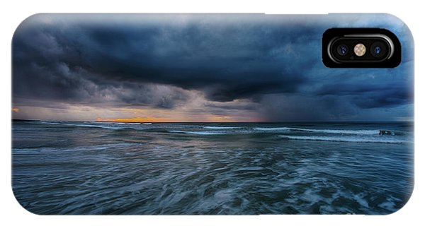 Stormy Morning IPhone Case