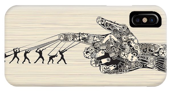 Ink iPhone Case - Strategy Behind The Right Direction by Ryger