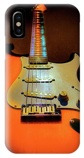 Stratocaster Triburst Glow Neck Series IPhone Case