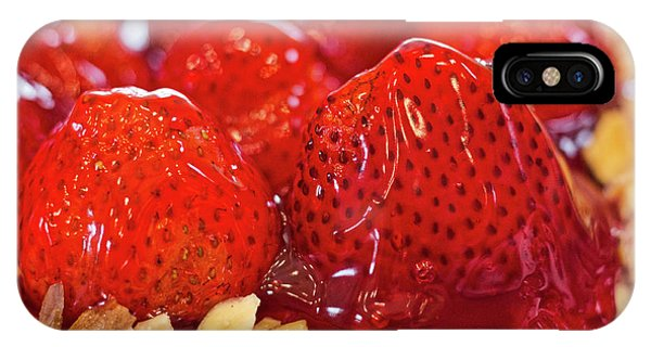 Strawberry Glaze IPhone Case