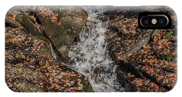 IPhone Case featuring the photograph Stream Through Rocks by Scott Lyons