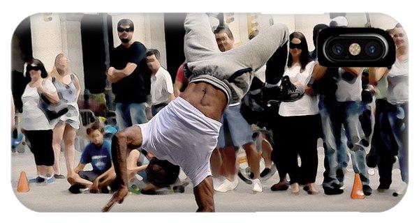 Street Dance. New York City. IPhone Case