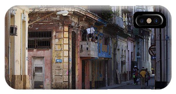 Oldtimer iPhone Case - Street Of Havana, Cuba by Danm12