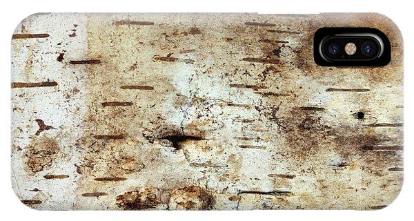 iPhone Case - Strip Of Birch Bark by Michal Boubin