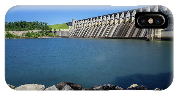 Strom Thurmond Dam - Clarks Hill Lake Ga IPhone Case