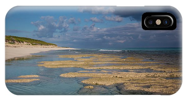 IPhone Case featuring the photograph Stromatolites On Stocking Island by Thomas Kallmeyer