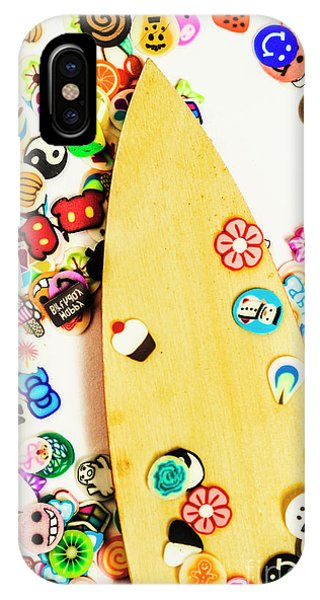Surfboard iPhone Case - Stuck On Boarding by Jorgo Photography - Wall Art Gallery