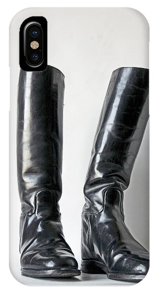 Studio. Riding Boots. IPhone Case