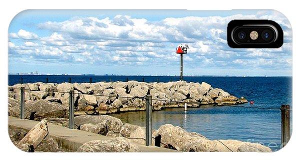 Sturgeon Point Marina On Lake Erie IPhone Case