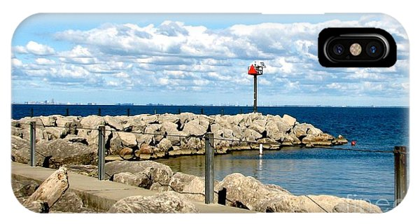 Sturgeon Point Marina On Lake Erie IPhone Case