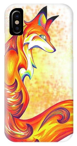 Stylized Fox I IPhone Case