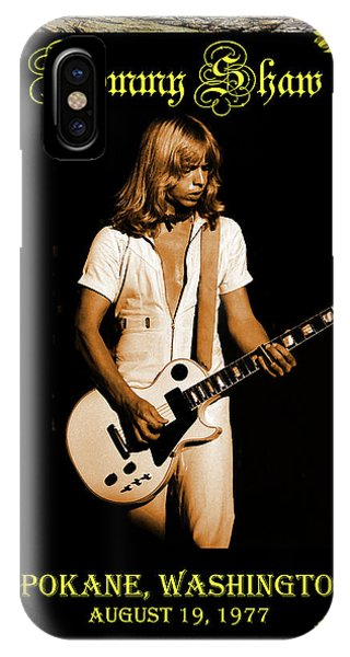 IPhone Case featuring the photograph Styxart In Frame #2 With Text by Ben Upham