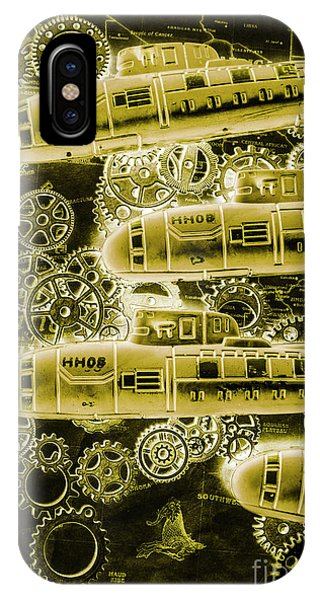 Navigation iPhone Case - Submersible Seas by Jorgo Photography - Wall Art Gallery