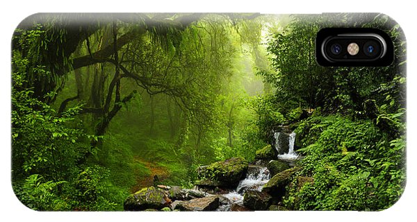 South America iPhone Case - Subtropical Forest In Nepal by Quick Shot