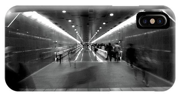 IPhone Case featuring the photograph Subway Ghosts by Edward Lee
