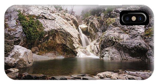Suchurum Waterfall, Karlovo, Bulgaria IPhone Case