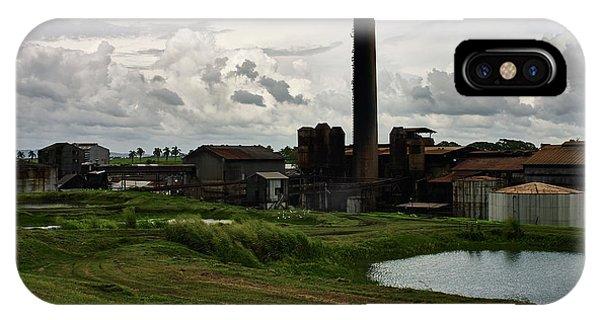 Sugar Factory I, Usine Ste. Madeleine IPhone Case
