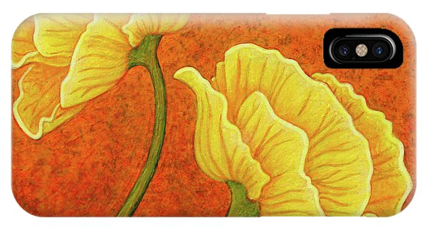 IPhone Case featuring the painting Sultry Sway by Amy E Fraser