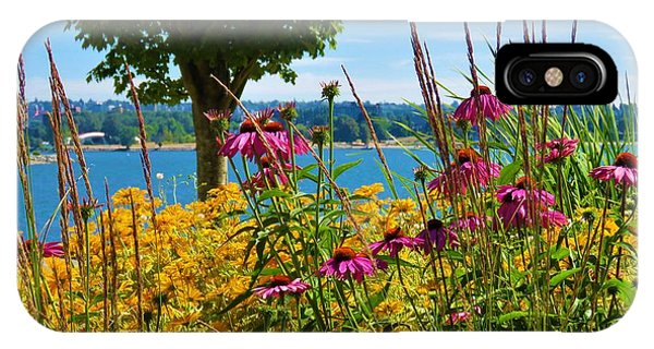 Summer Flowers Vancouver 1 IPhone Case
