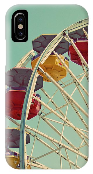 IPhone Case featuring the photograph Summer Fun - Ferris Wheel Art Print by Melanie Alexandra Price