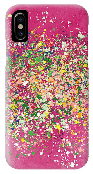 Pink iPhone Case - Summer Garden Party- Art By Linda Woods by Linda Woods