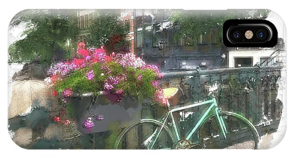 Summer In Amsterdam IPhone Case