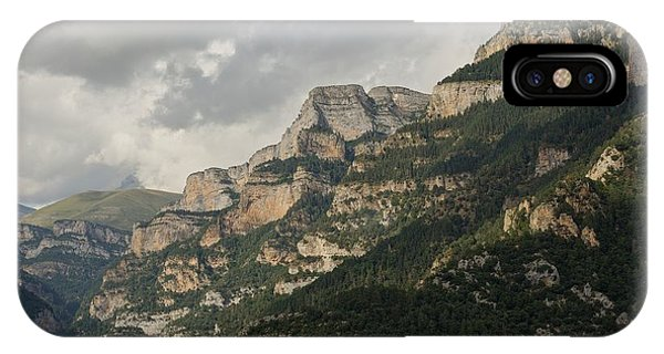 IPhone Case featuring the photograph Summer In The Anisclo Canyon by Stephen Taylor