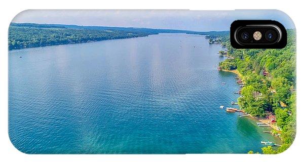 Summer On Keuka Lake IPhone Case