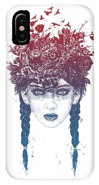 Floral iPhone Case - Summer Queen by Balazs Solti
