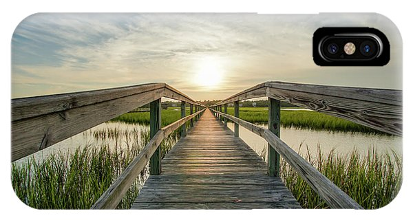 Tidal Marsh iPhone Case - Summertime by DiFigiano Photography
