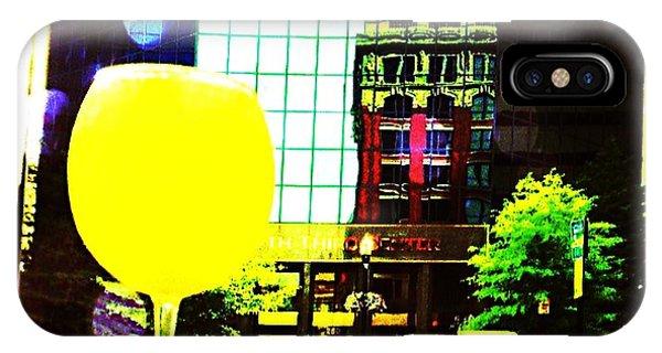 Summertime Downtown Lexington  IPhone Case