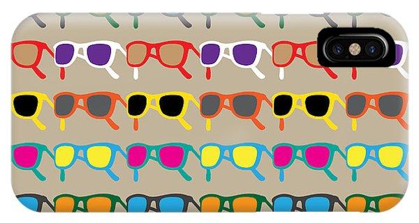 South America iPhone Case - Sun Glasses Pattern by Leo Brazil