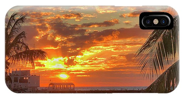 Sun Is Setting IPhone Case