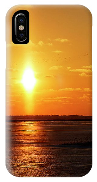 IPhone Case featuring the photograph Sun Pillar 01 by Rob Graham