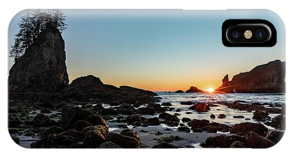 Sunburst At The Beach IPhone Case