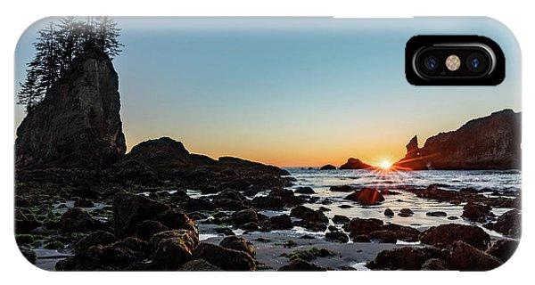 Sunburst At The Beach IPhone Case