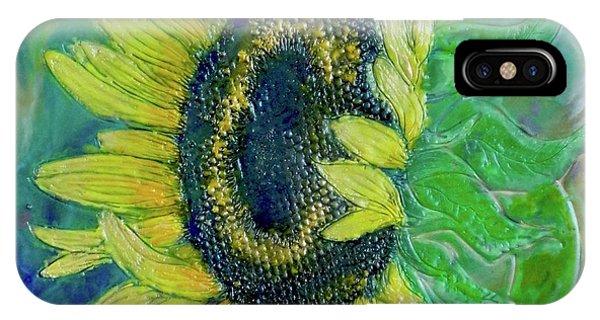 Sunflower Smiles IPhone Case