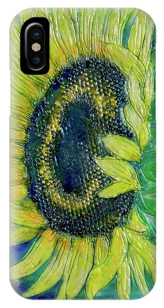 Sunflower Smiles IPhone Case