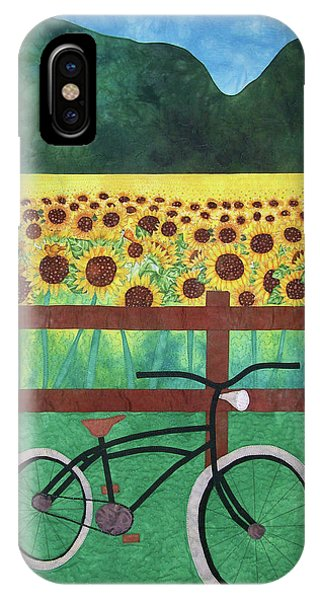 Sunflowers At Whitehall Farm IPhone Case
