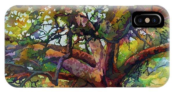 Sunlit Century Tree IPhone Case