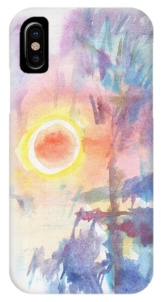 Sunny Winter Morning IPhone Case