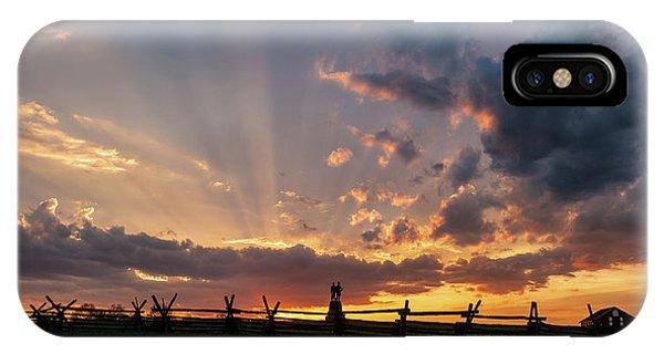 Sunrays At Sunset IPhone Case